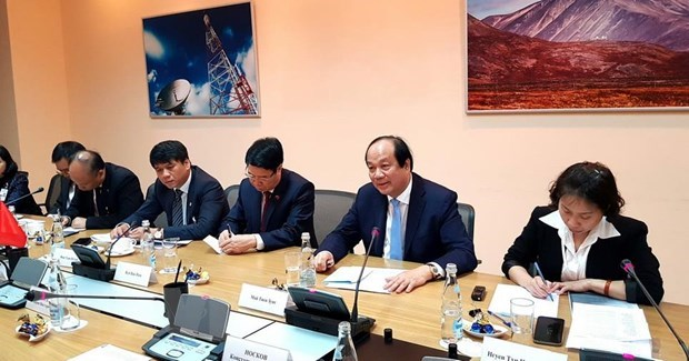 Vietnam, Russia foster cooperation in e-government building