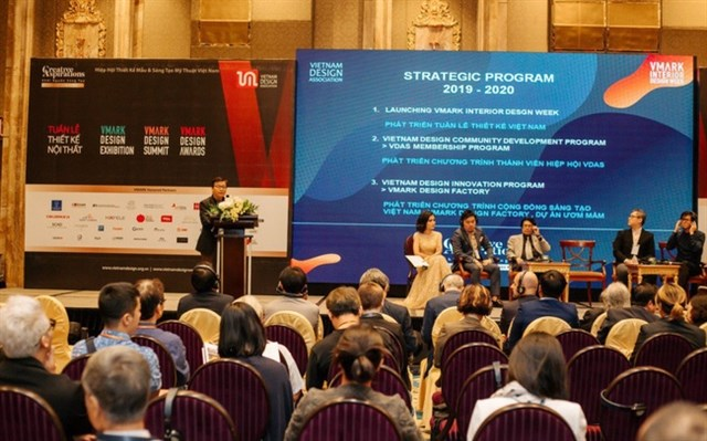 Vietnam Design Association shakes hand with foreign partners