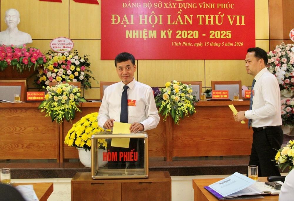dang bo so xay dung vinh phuc to chuc dai hoi lan thu vii nhiem ky 2020 2025