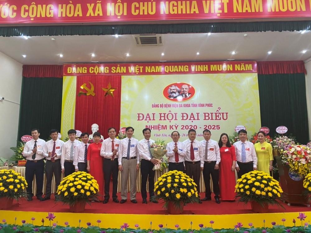 dang bo benh vien da khoa tinh vinh phuc to chuc thanh cong dai hoi dai bieu nhiem ky 2020 2025