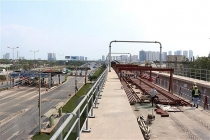 hcm city steps up construction of ben thanh suoi tien metro line