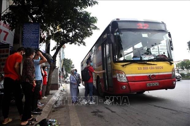 hanoi to build 270 bus shelters upgrade 330
