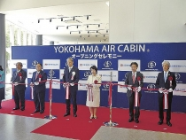 urban ropeway opens in yokohama bay area