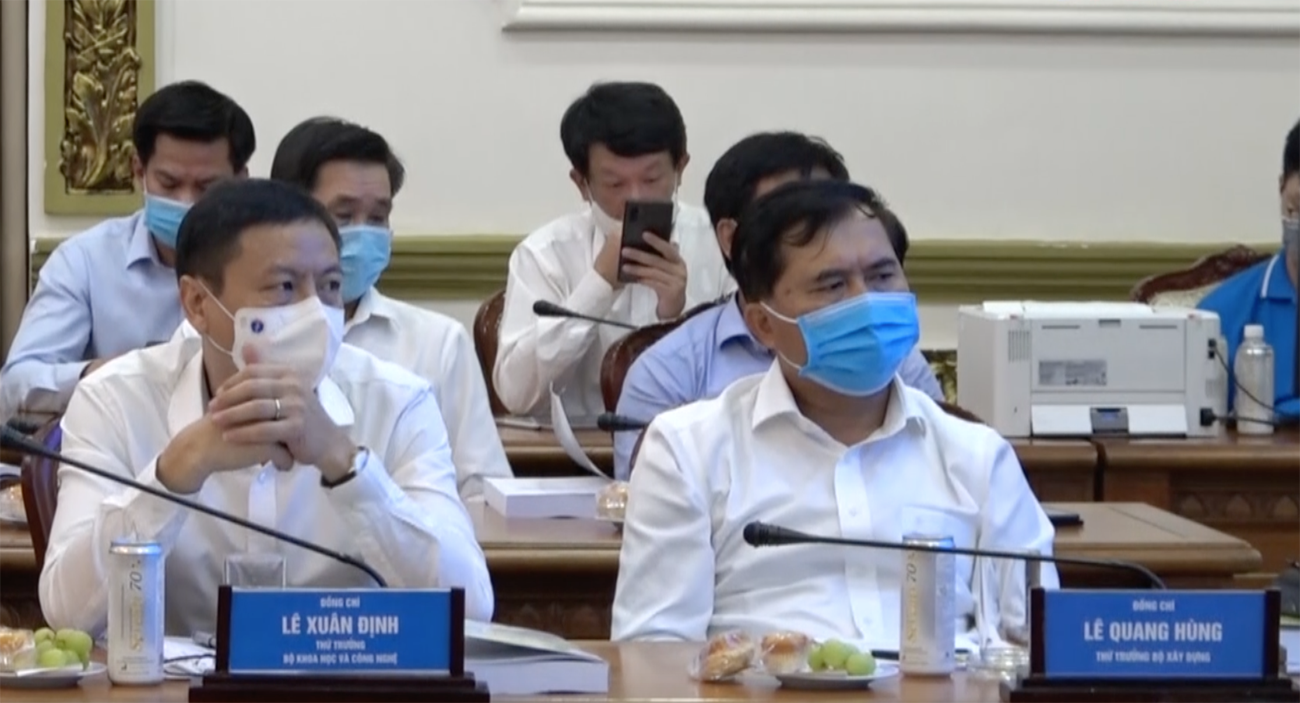 Ministry of Construction contributes opinions on urban development orientation of Ho Chi Minh City