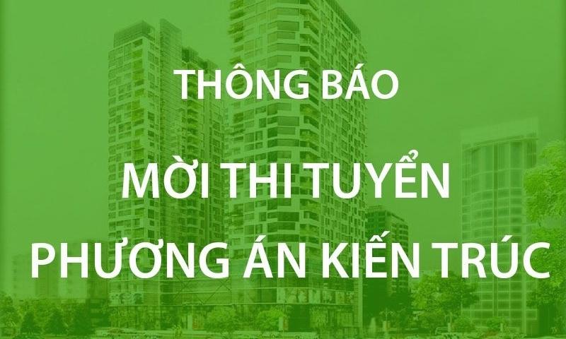 cuc hau can bo cong an thong bao thi tuyen phuong an kien truc cong trinh nha hat ho guom