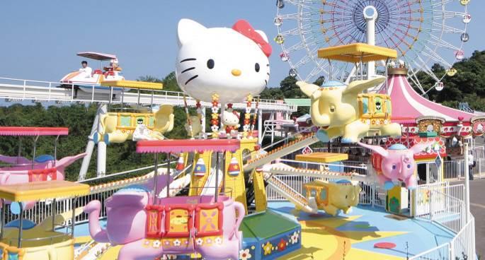 Top các công viên Hello Kitty nổi tiếng châu Á