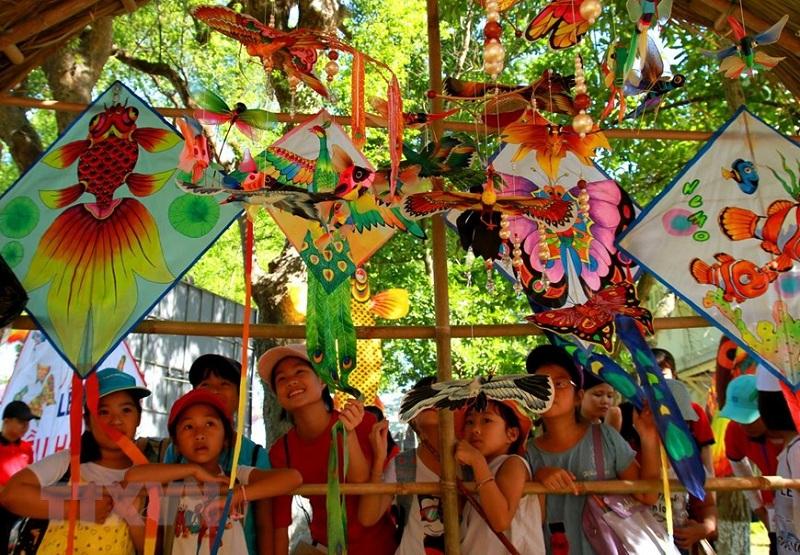 Đặc sắc lễ hội Diều Huế 2019 tại Công viên Tứ Tượng
