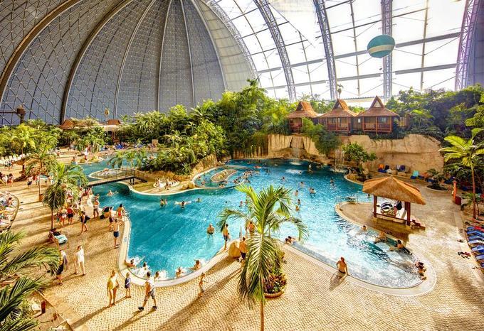 Công viên nước trong nhà lớn nhất thế giới ở Đức
