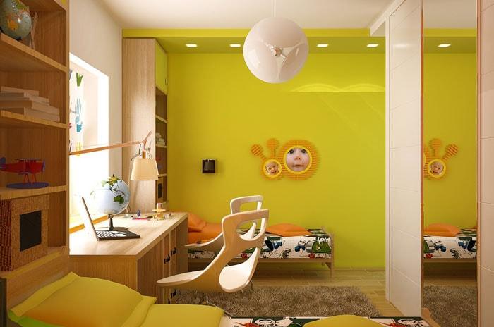 Những màu sắc phù hợp cho phòng trẻ em
