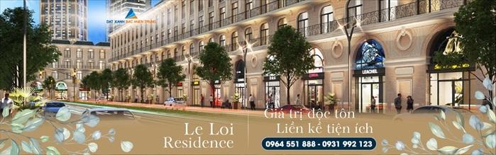 Đất Xanh Bắc Miền Trung giới thiệu phân khu Le Loi Residence tại Quảng Bình