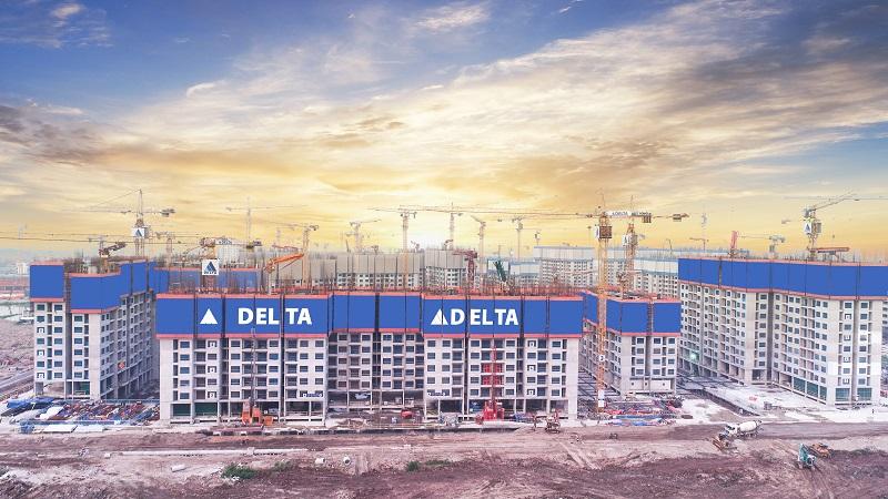 Tập đoàn Xây dựng Delta áp dụng rộng rãi công nghệ Gang form