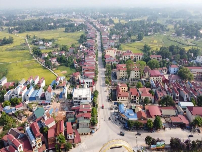 Phú Bình: Huyện đầu tiên của Thái Nguyên hoàn thành xây dựng nông thôn mới