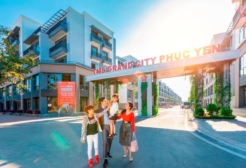 TMS Grand City Phuc Yen - Dự án đáng sống bậc nhất tại Phúc Yên