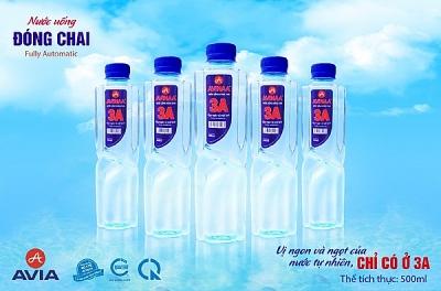 Xuất khẩu nước uống tinh khiết AVINAA-3A, nâng tầm sản phẩm người Việt