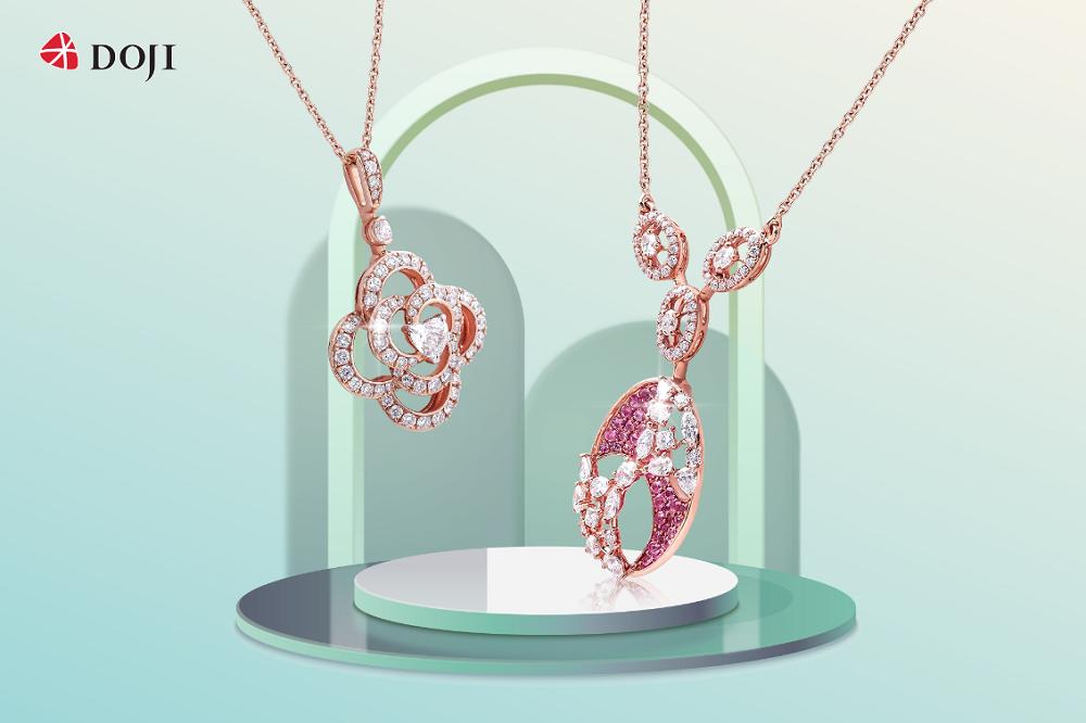 Cận cảnh những mẫu trang sức kim cương cao cấp của DOJI làm say lòng phái đẹp