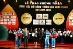Tập đoàn TMS được vinh danh trong top Nhãn hiệu nổi tiếng Việt Nam 2018