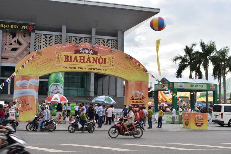 Quảng Trị: Ngày hội bia Hà Nội năm 2018