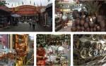 Những sản phẩm tinh xảo, độc đáo ở chợ gốm làng cổ Bát Tràng