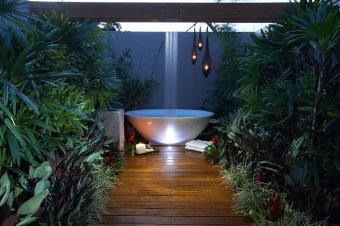 """Các mẫu phòng tắm """"hoang dã"""", nhìn là mê muốn trải nghiệm ngay"""