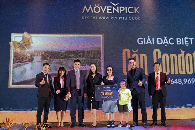 Lộ diện chủ nhân giải thưởng căn condotel hơn 3 tỷ đồng tại lễ tri ân Movenpick Resort Waverly Phú Quốc