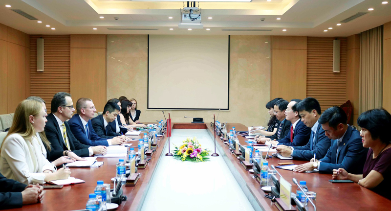 Strengthening cooperation in construction between Vietnam - Latvia