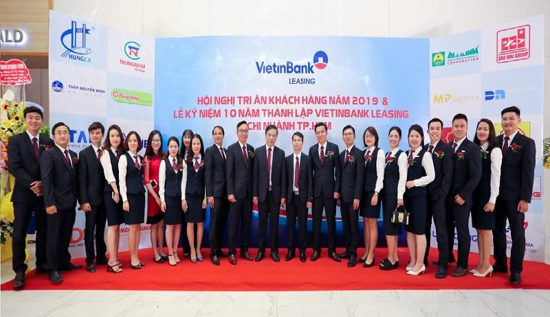 Vietinbank Leasing chi nhánh TP. HCM: 10 năm xây dựng và phát triển