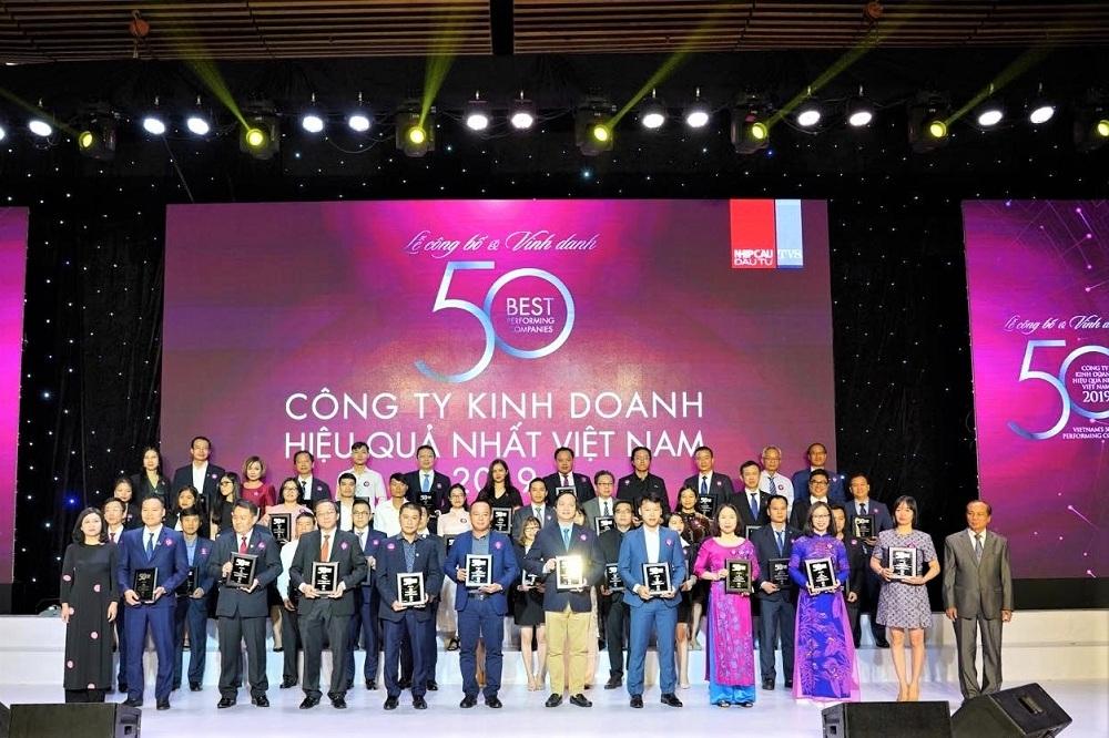 """""""Ông lớn bất động sản"""" thuộc Top 50 công ty kinh doanh hiệu quả nhất Việt Nam 2019"""