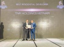 TNR Holdings VietNam nhận giải thưởng Nhà phát triển bất động sản nhà ở tốt nhất Việt Nam năm 2020