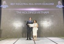 TNI Holdings VietNam được vinh danh Nhà phát triển bất động sản công nghiệp tốt nhất Việt Nam năm 2020