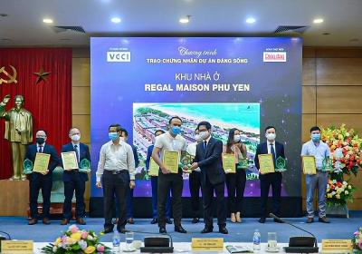Regal Maison Phu Yen của Đất Xanh Miền Trung được vinh danh tại Dự án đáng sống 2021