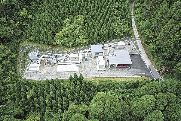 japans obayashi begins production of green hydrogen