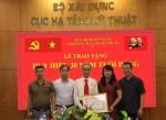 Chi bộ Cục Hạ tầng Kỹ thuật tổ chức Lễ trao tặng Huy hiệu 30 năm tuổi Đảng