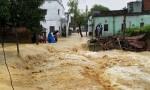 Cố băng qua cầu sắp sập, gia đình ba người bị lũ cuốn trôi ở Ấn Độ