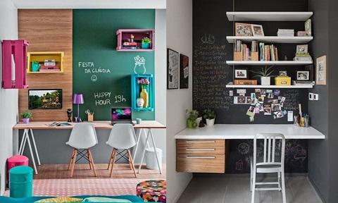 Những góc làm việc siêu đẹp dành riêng cho nhà hẹp