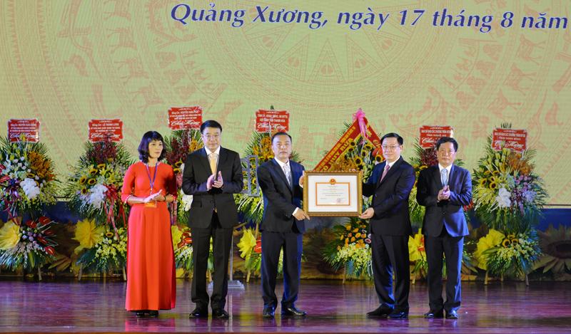 Thanh Hóa: Huyện Quảng Xương đạt chuẩn Nông thôn mới