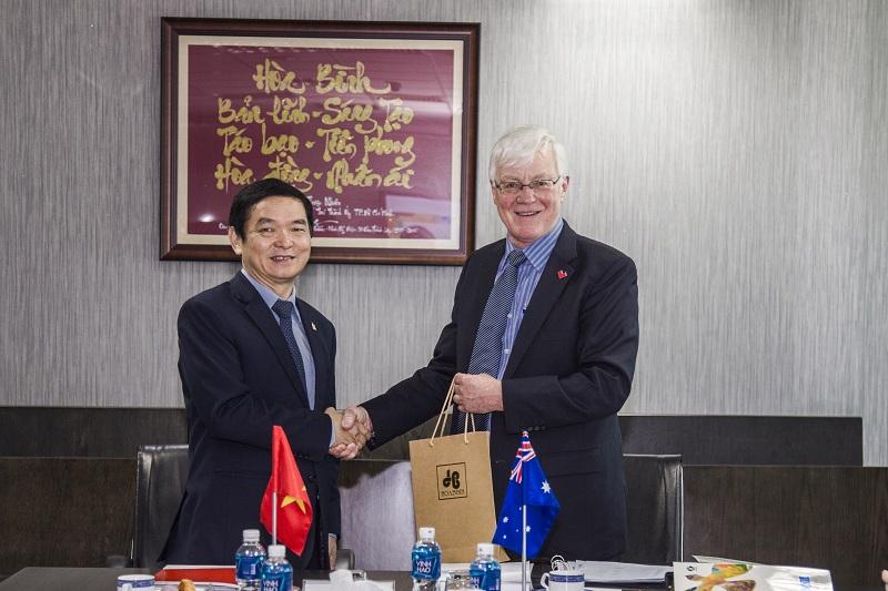 CEO Lê Viết Hải tham gia Hội đồng chuyên môn Đại học RMIT
