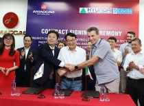 Tập đoàn AMACCAO ký kết hợp tác với Liên danh Hyundai – Ghella thực hiện gói thầu gần 300 tỷ đồng