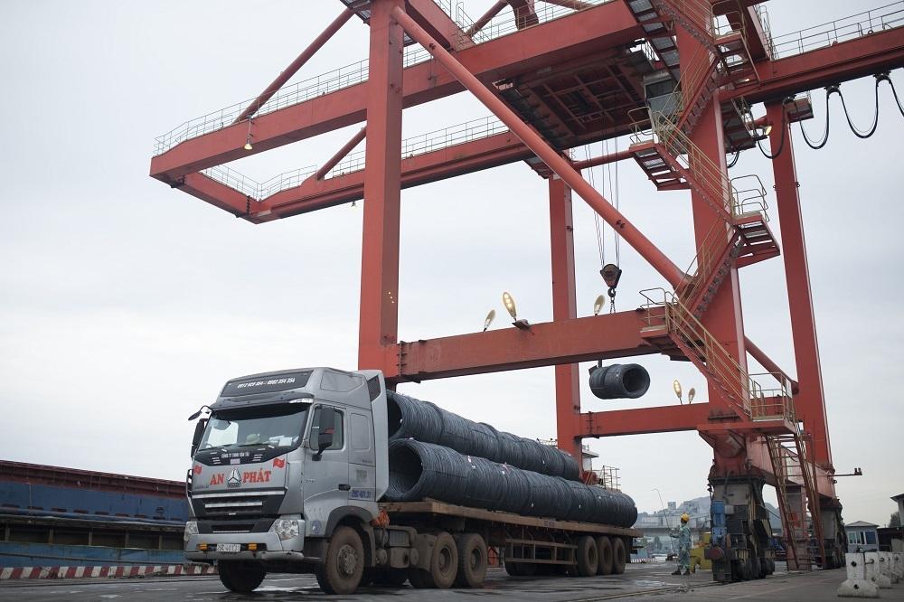 Thép Hòa Phát xuất khẩu sang Châu Phi
