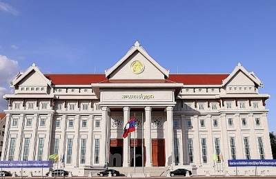 Completion of Lao new National Assembly Building