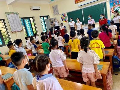 Phòng Giáo dục và Đào tạo thành phố Vĩnh Yên bảo đảm an toàn phòng, chống dịch Covid-19 tại các trường học