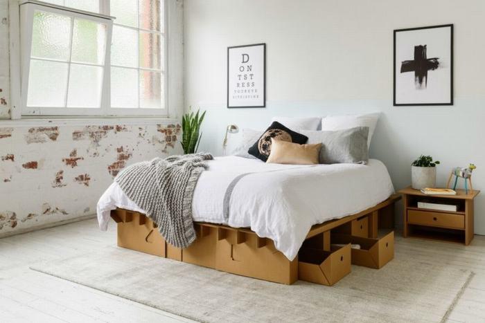 Đồ nội thất bằng bìa carton bền vững cho nội thất mọi căn phòng