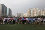 16 đội tuyển tranh tài tại Giải bóng đá Tổng Cty HUD năm 2018