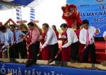 Phó Thủ tướng dự lễ động thổ dự án điện mặt trời đầu tiên tại Long An