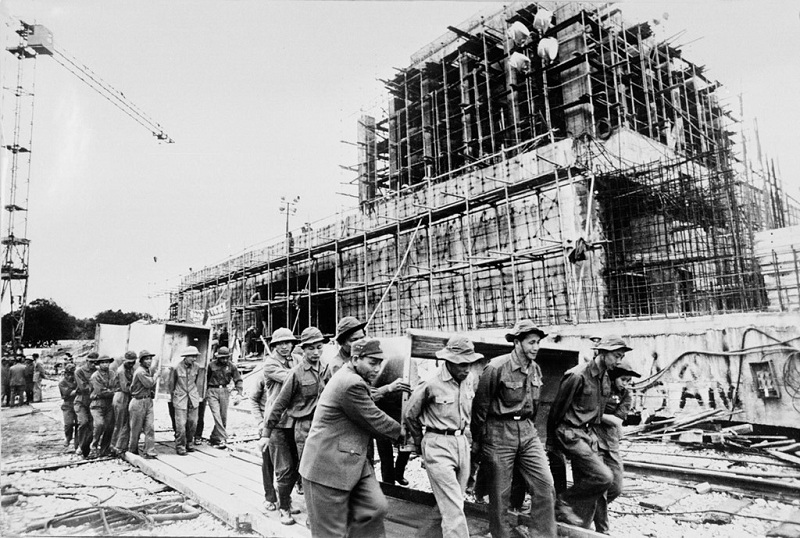 Hình ảnh hiếm về 2 năm xây dựng Lăng Chủ tịch Hồ Chí Minh