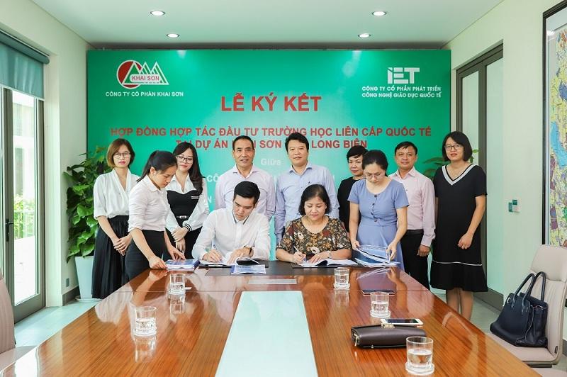 Khai Sơn Town có trường liên cấp dự kiến đi vào hoạt động từ năm 2022