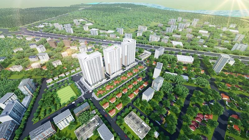 """Xuân Mai Tower Thanh Hóa chuẩn bị """"về đích"""""""