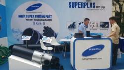 Ống HDPE SuperPlas được trưng bày tại Lễ kỷ niệm 50 năm thành lập Trường Đại học Kiến trúc Hà Nội
