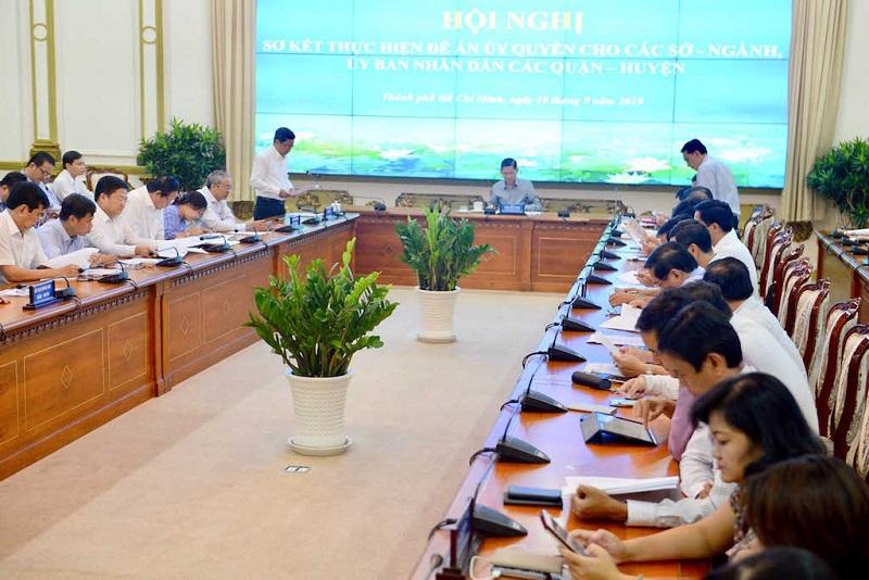 TP Hồ Chí Minh: Đề án ủy quyền đã giúp giải quyết công việc nhanh hơn