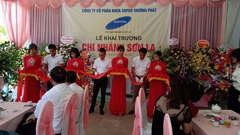 Nhựa Super Trường Phát khai trương chi nhánh mới tại Sơn La