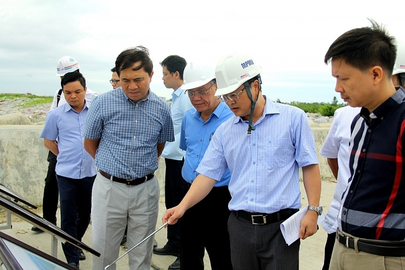 completion acceptance of package 10 component a hai phong international gateway port project
